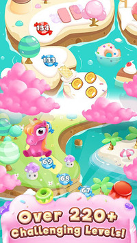 Jelly Paradise: Match & Serve pc screenshot 1