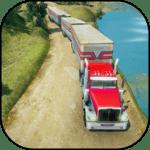 Road Train Truck Driving Sim: Long Trailer Cargo icon