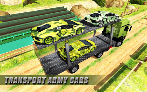Army Cars Transport Truck 2018 pc screenshot 1