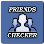 Friends Checker for Facebook for pc logo