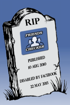 Friends Checker for Facebook pc screenshot 1