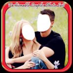 Fashionable Couples Photo Suit icon