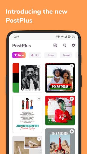 Post Maker for Instagram - PostPlus pc screenshot 1
