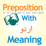 Preposition With Urdu Meaning icon
