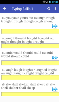 Typing skills pc screenshot 1