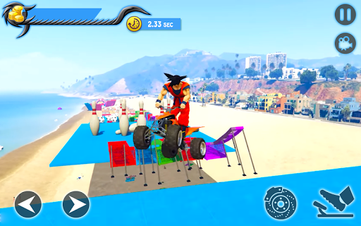 Fourwheeler SuperHeroes Quad Bike Racing pc screenshot 1