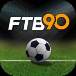 FTB90 - Live Soccer News App icon