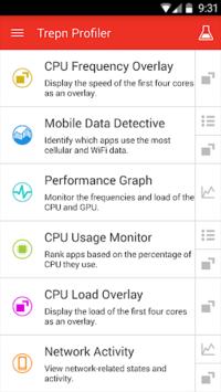 Trepn Profiler pc screenshot 1