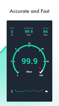 Net speed Meter : Internet  Bandwidth Speed Test pc screenshot 2