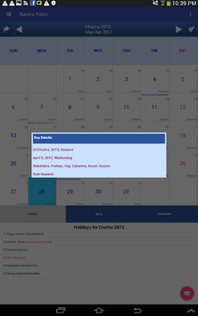 Nepali Calendar Ramro Patro pc screenshot 2