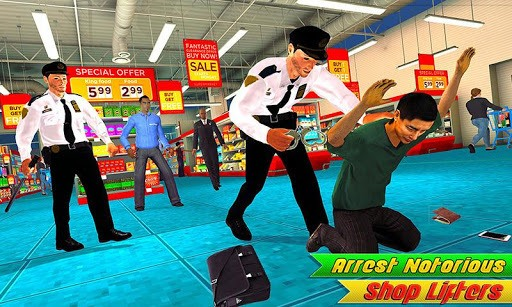 Mall Cop Duty Arrest Virtual Police Officer Games pc screenshot 1