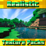 Realistic Textures for Minecraft PE icon