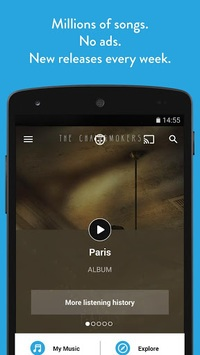 Napster Music pc screenshot 1