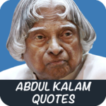 Abdul Kalam Quotes in English for pc logo