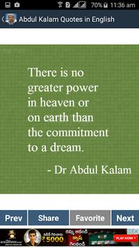 Abdul Kalam Quotes in English pc screenshot 1