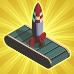 Rocket Valley Tycoon - Idle Resource Manager Game icon