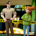 Small Town Murders: Match 3 Crime Mystery Stories icon