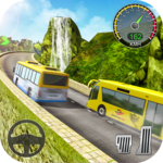 Hill Climb Racing In Bus for pc logo