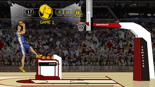 Steph Curry Basket Shots PC screenshot 1