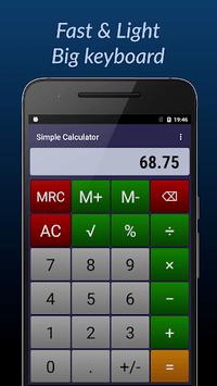 Simple Calculator pc screenshot 1