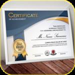 Certificate Maker app pro icon