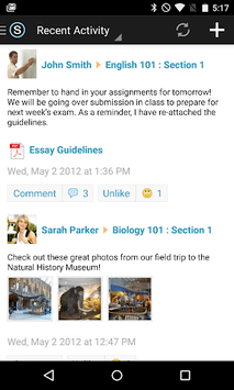 Schoology pc screenshot 1