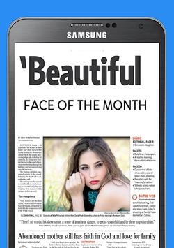 Newspaper Photo Collage pc screenshot 1