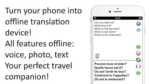 Offline Translator: French-English Free Translate pc screenshot 1