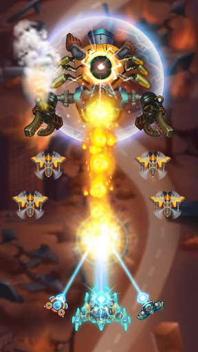 Sky Raptor: Space Shooter - Alien Galaxy Attack PC screenshot 1