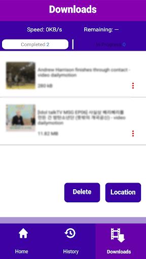 Video Downloader - Online Video Downloader -SL App pc screenshot 1