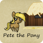 Pete the Pony goes home icon