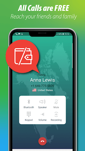 Free Call, Call Free Phone Calling App - CallGate pc screenshot 1