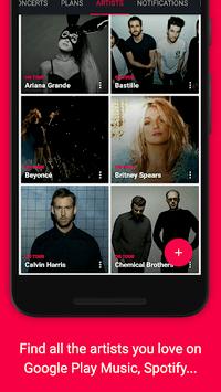 Songkick Concerts pc screenshot 1