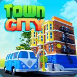 Town City - Village Building Sim Paradise Game for pc logo