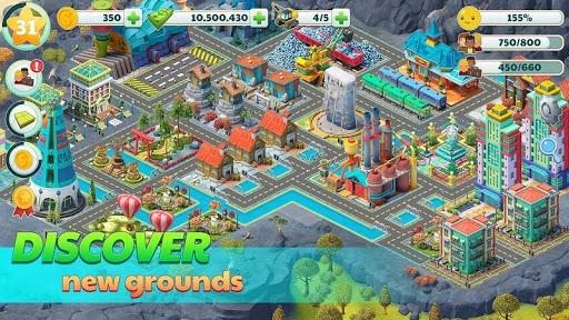 Town City - Village Building Sim Paradise Game pc screenshot 1