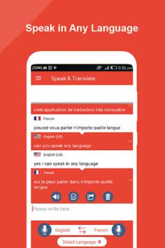 Speak and Translate All Languages Voice Translator pc screenshot 1