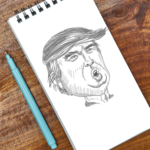 Caricature Drawing App- Draw Celebrity Caricatures icon