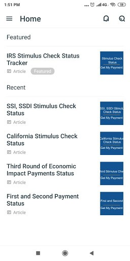Stimulus Check Status Tracker PC screenshot 2