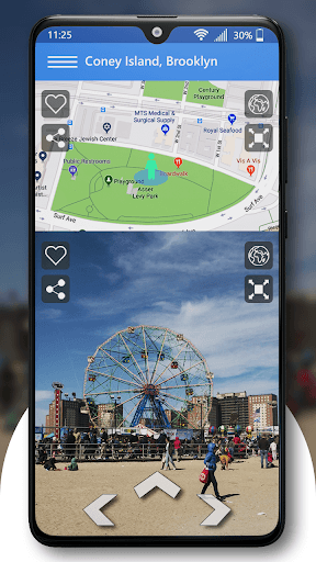 Live Street View Earth & Driving Directions App PC screenshot 2