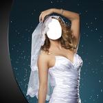 Wedding Gown Photo Montage icon