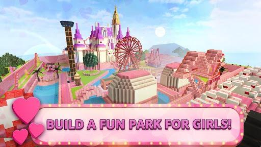 Girls Theme Park Craft: Water Slide Fun Park Games pc screenshot 1