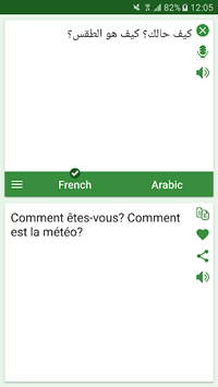 French - Arabic Translator pc screenshot 2