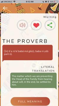 Proverbs of the Yorubas pc screenshot 1