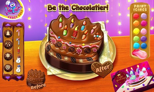 Chocolate Maker Crazy Chef pc screenshot 1