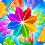 Gummy Gush: Match 3 Puzzle for pc logo