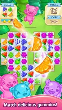 Gummy Gush: Match 3 Puzzle PC screenshot 1