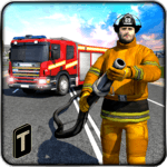 Firefighter 3D: The City Hero icon