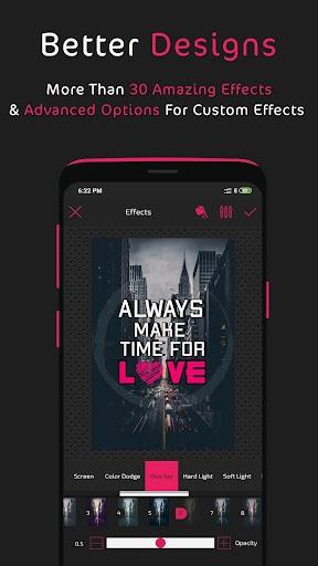 Postershop - Typography Designer & Text On Photo PC screenshot 1