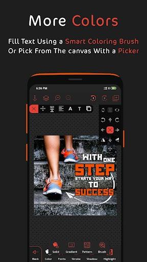 Postershop - Typography Designer & Text On Photo PC screenshot 2