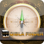Qibla Direction Finder & Prayer Time Alarm Manager icon